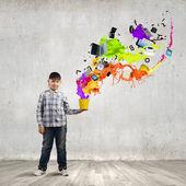 Pensamento criativo — Fotografia Stock