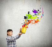 Kreativt tänkande — Stockfoto