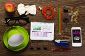 Office tabell — Stockfoto