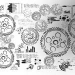 Cogwheels and gears — Stock Photo #53521325