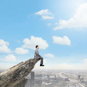 Risk in business — Stock Photo