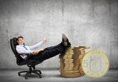 Ganhando dinheiro — Foto Stock