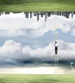 Parallel worlds — Stock Photo