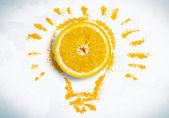 Refreshing juice — Stock Photo