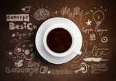 Cup of coffee — Zdjęcie stockowe