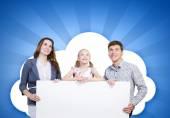 Genç ailesi — Stok fotoğraf