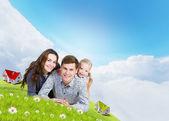 Família jovem — Fotografia Stock
