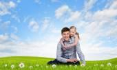 Happy parenting — Stock Photo