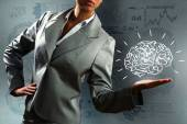 Smart thinking — Stock Photo
