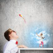 Childhood concept — Stock Photo