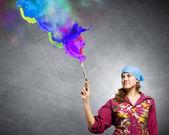 創造性と芸術 — ストック写真