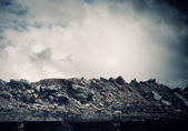 Vernietiging concept — Stockfoto