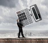 Man accountant — Stock Photo
