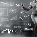 Business presentation — Stock Photo #55077307