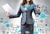 Business presentation — Stock fotografie