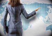 グローバル化の概念 — ストック写真