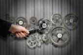 Mecanismo de trabalho — Fotografia Stock