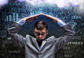 Crisis in business — Stock Photo