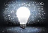 Bright ideas — Stock Photo