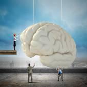 Brainstorming em equipe de negócios — Foto Stock