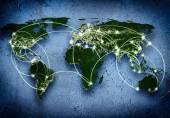Global samverkan — Stockfoto