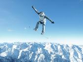 Snowboarding sport — ストック写真