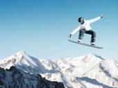 Snowboard spor — Stok fotoğraf