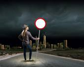 Arrêter la pollution! — Photo