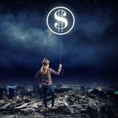 Money making — Stock Photo