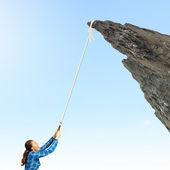 Mountaineering concept — Stock Photo