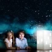 Noche soñando — Foto de Stock