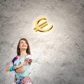 Concepto de moneda — Foto de Stock