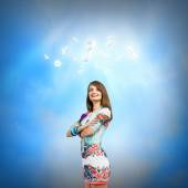 Woman i — Stock Photo