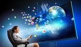 3 d technologies — Stockfoto