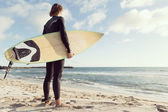Ready to meet waves — Stock Photo