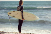Bereit, Wellen zu erfüllen — Stockfoto