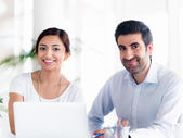We make a great team together — Stock Photo