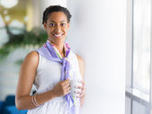 Confident about her future — Stock Photo