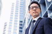 Serious about my business — 图库照片