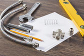 Sanitary tools — Stock Photo