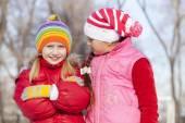 Winter activities — Stock Photo