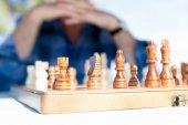 Strategia szachowa myślenia — Zdjęcie stockowe