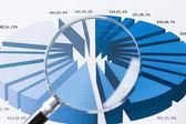 Market report — Stock Photo