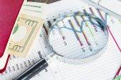 Financial analytics — Stock Photo