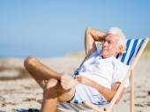 Relaxing at sea — Stock Photo