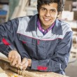 Carpenter at work — Stock Photo #73854985