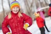 Winter activity — Stock Photo