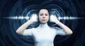 High technologies of future — Stock Photo