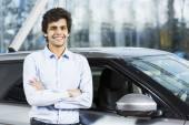 Buying car — Stock Photo