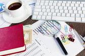 Financial analytics — Stok fotoğraf